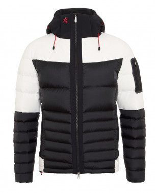 Mens Amak Hybrid Ski Jacket Black