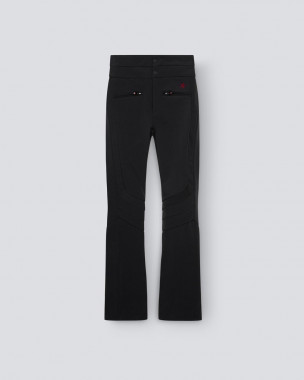 WOMENS AURORA HIGH WAIST FLARE PANT BLACK