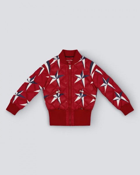 KIDS GLACIER JACKET RED