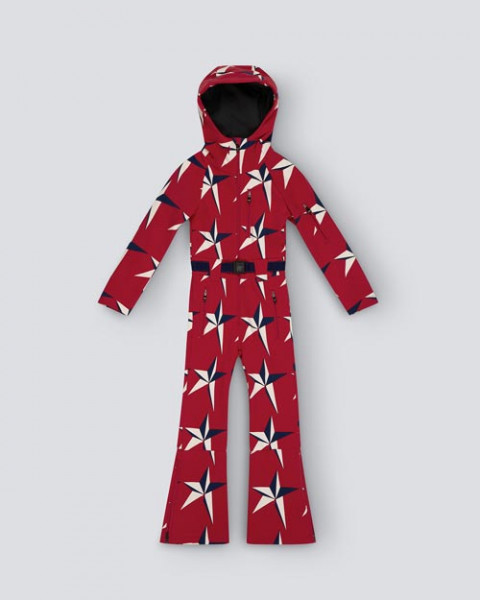 KIDS STAR SUIT ONE PIECE RED