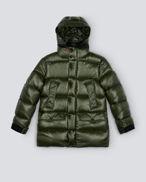 MENS JACKSON DOWN PUFFER DARK GREEN
