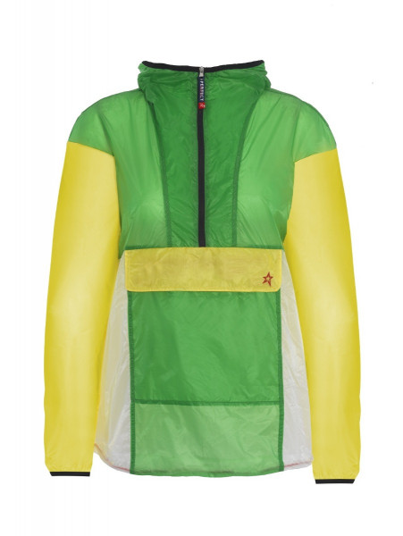 Womens Ultra Lightweight Packable Jacket Green
