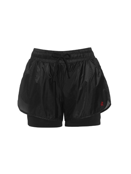 Womens Ultra Light Track Shorts Black