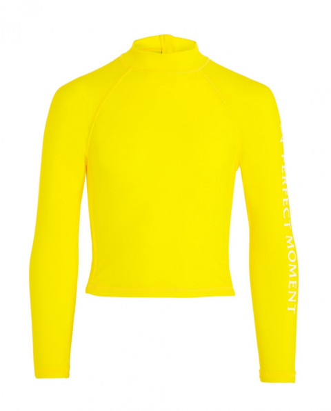 Kids' Long-sleeved Rash Guard Citron
