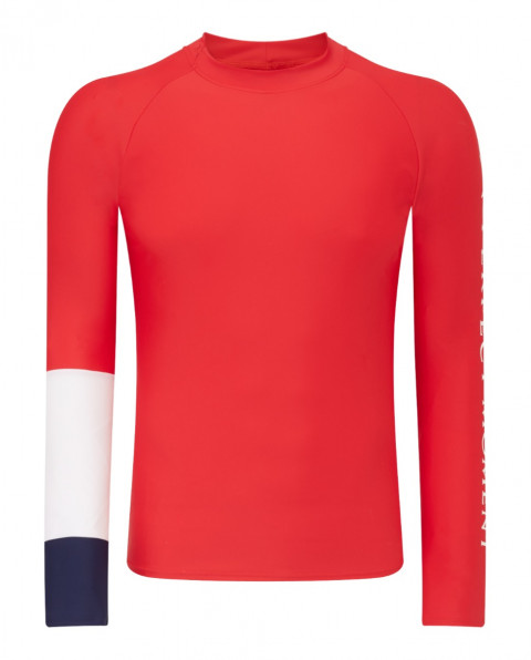 Mens PM Rash Guard Red