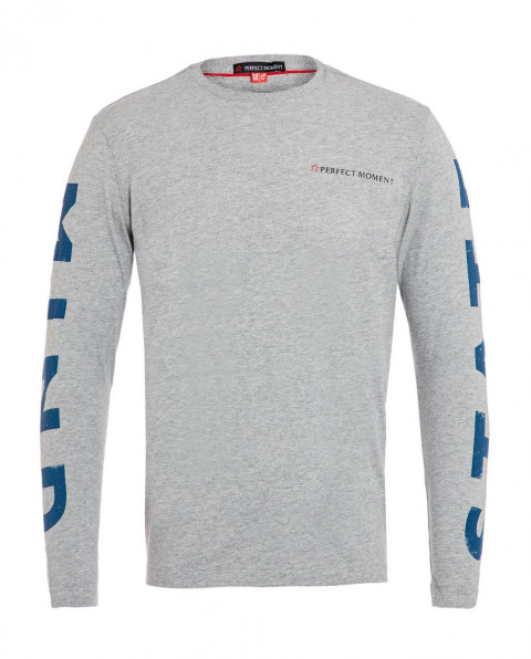 Men's State of Mind Cotton-Jersey Top Grey