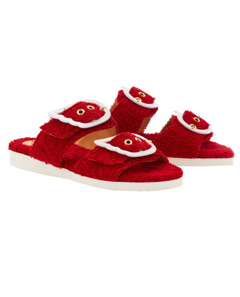 Womens Iaso Sandals Red|Perfect Moment