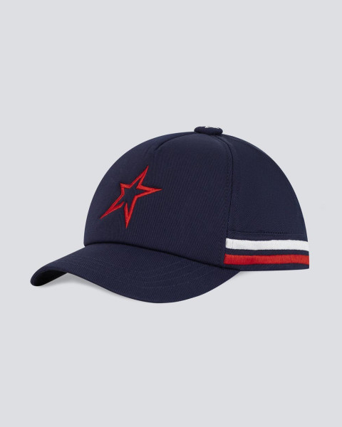 STAR CAP NAVY RED WHITE