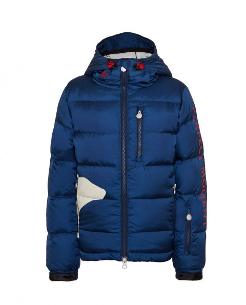 Kids Down Bear Jacket Navy
