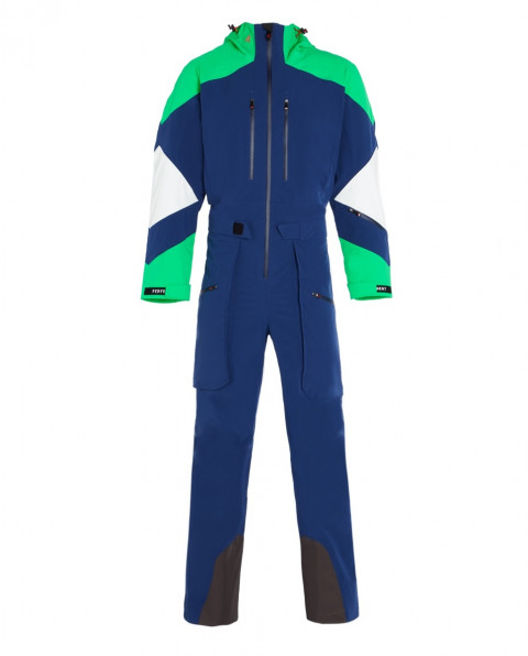 Men's Heli 3 Layer Ski Suit Navy