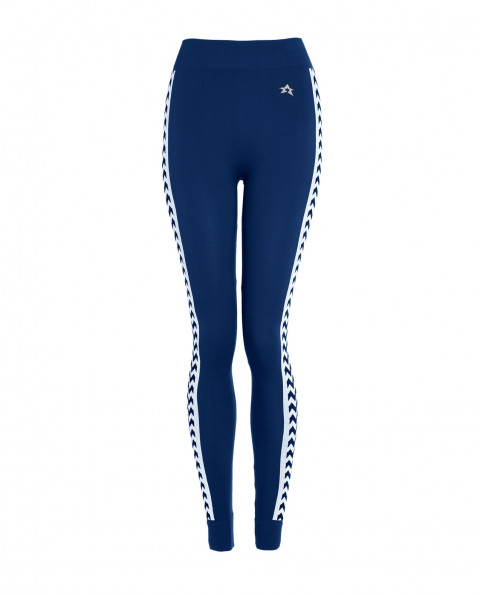 Womens ZigZag Thermal Pants Navy