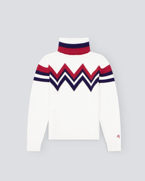 WOMENS ALPINE SWEATER WHITE