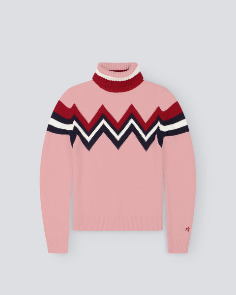 WOMENS ALPINE SWEATER PINK