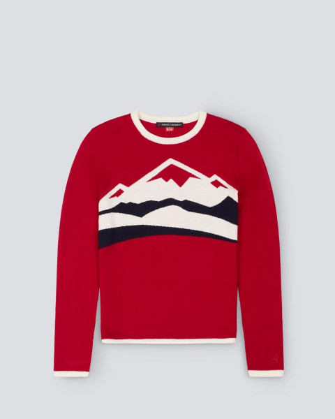 WOMENS CHAMONIX SWEATER RED