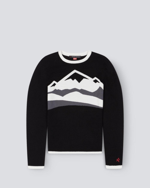 WOMENS CHAMONIX SWEATER BLACK/GREY