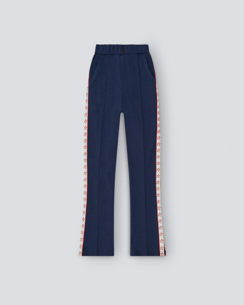 Womens Star Track Pant Navy