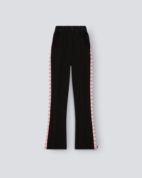 Womens Star Track Pant Black