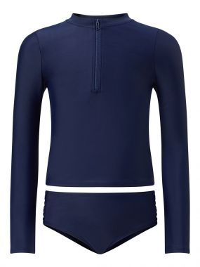 Kids PM Rash Guard Bikini Navy