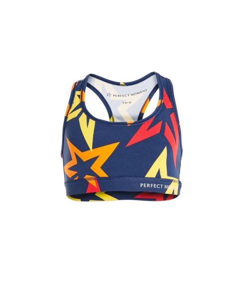 Kids Starlight Racer-Back Sports Bra Rainbow
