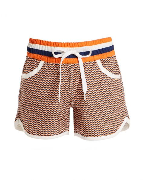 Kids' Zigzag Resort Shorts Orange