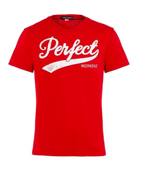 Men's Perfect Printed Cotton-Jersey T-Shirt Red