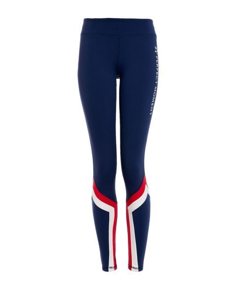 Womens Vale Rainbow Leggings Navy|Perfect Moment