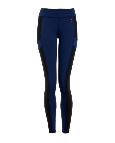 Women Allos Panelled Leggings Navy|Perfect Moment