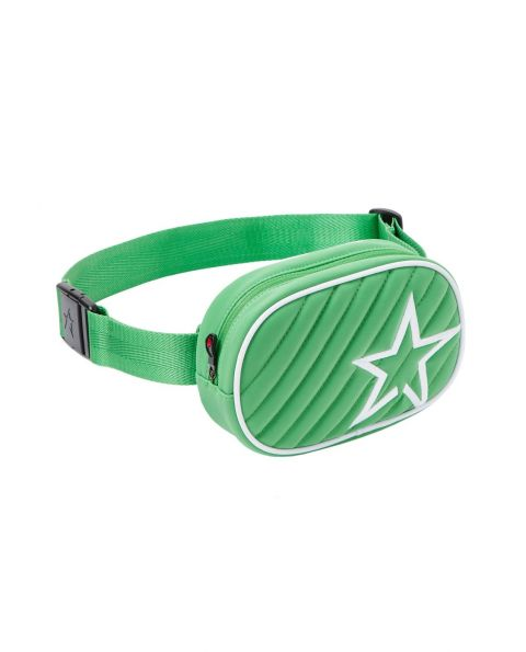 Unisex Star-print Bum Bag Green